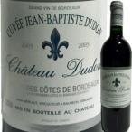 (赤ワイン・フランス・ボルドー)シャトー・デュドン・キュヴェ・ジャン・バプティスト・デュドン 2003 wine