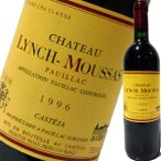 (赤ワイン フランス ボルドー)シャトー・ランシュ・ムーサ 1996 wine
