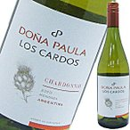 (白ワイン・アルゼンチン) ドニャ・パウラ・ロス・カルドス・シャルドネ wine