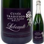(シャンパン、スパークリング・フランス・ブルゴーニュ) ドメーヌ・ルボー・キュヴェ・トラディション・ブラン・ド・ブラン・ブリュット NV