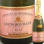 (ロゼワイン・フランス・ブルゴーニュ) ルイ・ブイヨ・クレマン・ド・ブルゴーニュ・ロゼ・ペルル・ド・オロール NV wine