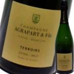 (シャンパン、スパークリング・フランス・シャンパーニュ) アグラパール・ブラン・ド・ブラン・テロワール・グランクリュ・エクストラ ブリュット NV wine