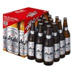 お中元 ビール EX-12 アサヒ スーパードライ大びん1ダースセット 送料無料(本州のみ) お中元 ギフト(父の日配送不可)