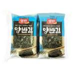 両班(ヤンバン)・弁当用韓国のり(8切×8枚×8袋)