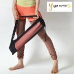 ショッピングヨガマット ヨガマット バッグ ケース ヨガワークス ヨガマット ケース メッシュバッグ 6mm対応 yogaworks メール便送料無料