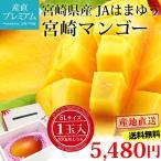 完熟宮崎マンゴー 5Lサイズ (650g以上)×1玉 宮崎県