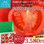 高糖度フルーツトマト スーパーフルーツトマト 筑波のあかとんぼ 約1kg 約8〜16玉 茨城県産 ギフト