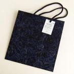 うるし塗り手提げ紙バッグ「黒バラ」 中サイズ
