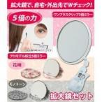 拡大鏡セット(ワンプラスクリップ5倍ミラー+プロモデル折立5倍ミラー)
