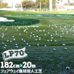 人工芝 LP-70 182cm幅×20m巻(1本/セット)送料無料。庭やベランダロールマット 材質はポリプロピレンで人工芝生種類豊富に販売