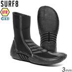SURF8 サーフエイト 3MM スプリットソールブーツ 男女兼用 サーフブーツ 冬用 遠赤放射ジャージIFR 22-29cm 89F1W4