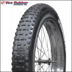 ファットバイク専用タイヤ Vee スノーシュー 26 x 4.7 ワイヤービート 自転車 タイヤ