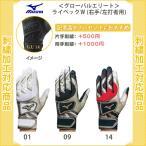 MIZUNOmizuno名入れバッティンググローブ白金刺繍