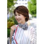 横浜スカーフ ワンタッチスカーフ かんたんスカーフ おしゃれ 在庫あり シルク100% 絹 日本製 当日発送 送料無料 ピンポツ柄