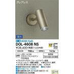 DOL-4608NS:アウトドア用 スポットライト 天井・壁・床付兼用 調光 白色