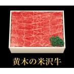 【お歳暮ギフト】 米沢牛しゃぶしゃぶ モモ500g【各種お祝い、内祝いにも】