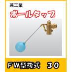 兼工業 ボールタップ FW型 複式 30 ポリ玉
