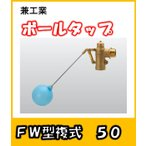 兼工業 ボールタップ FW型 複式 50 ポリ玉