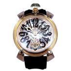 ガガミラノ 腕時計 GAGA MILANO MANUALE 48MM CRYSTAL 時計 6091.04