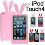 iPod touch4 ケース カバー うさぎ