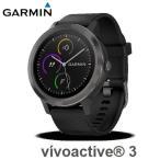 GARMIN ガーミン  スマートウォッチ 時計 GPS アクティブトラッカー 活動量計 vivoactive3 Black Slate 日本正規品 176971 最大7日間連続稼働