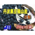 丹波篠山産黒豆大粒 250g×1袋 メール便でお届け 生産農家の方が、一粒一粒丹念に 選別した中粒黒豆