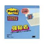 (業務用セット) ポスト・イット(R) 強粘着 ノート エレクトリックブルー 1冊 (7.5×7.5cm) 〔×20セット〕
