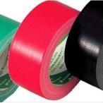 ニチバン カラー布テープ(薄手) レッド 1箱(30巻)