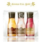 メール便 お試しセット POLA/アロマエッセ ゴールド/aroma ess.GOLD/シャンプー コンディショナー ボディの3種 30mLx3