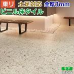 床材 リフォーム DIY 土足可 ビニル床 石目 ロイヤルストーン モア 約300×600mm 18枚入り 大谷石(Nm) (PST1209)