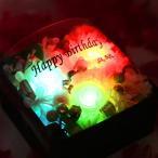 誕生日祝い 「Jewelry Box」S ボックスフラワー 送料無料 プリザーブドフラワー 祝 花 フラワーボックス お祝い 女性 本命 サプライズ 虹色