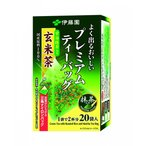 (送料無料_一部除く) 伊藤園 プレミアムティーバック 宇治抹茶入り玄米茶 2.3g×20袋 (8個)