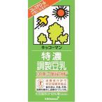 豆乳 キッコーマン 特濃調整豆乳 1000ml×6本 特保 (トクホ)
