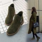 ブーティー ブーツ ショートブーツ レディース レディースブーツ ヒール 靴 レディースシューズ 太めヒール 美脚 歩きやすい 疲れない スエード 履きやすい