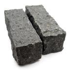 花崗岩 ピンコロ 黒御影石プーテン黒  90x90x290 7.1kg 4個入り