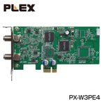 4ch同時録画・視聴 PCI-Express型地デジ・BS/CSチューナーPX-W3PE4