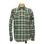 ウエスタンシャツ チェック柄 メンズ 長袖 カウボーイシャツ アメカジ おしゃれ 大きいサイズ S M L