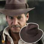 ウエスタンハット インディジョーンズモデル 帽子 メンズ フェルト 公式ライセンス商品