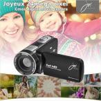【送料無料】TCL フルHDデジタルムービーカメラ 800万画素CMOSセンサー 8倍ズーム  JOY-F6(joy-f6)