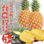 パイナップル 台湾産 金鑽パイン 5kg パイナップル 糖度約14〜18度 【4月中旬〜発送予定】