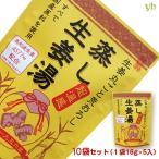 国内産生姜  温活 蒸し生姜湯・六漢生姜湯  2種×各5袋 10袋セット 送料込み