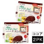 選べる 米粉 ケーキ 手作り 簡単 グルテンフリーケーキミックス(ココア)×2袋 国内産米粉使用