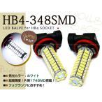 パジェロミニ H5#A 後期 SMD LEDバルブ 348連 フォグランプ HB4