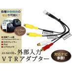 外部入力★クラリオンHDDナビ 映像OUT/VTR入力ケーブル MAX760HD