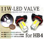 プリウス NHW20 後期 11W LEDバルブ 12連 フォグランプ HB4 白