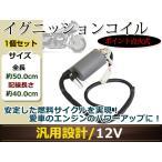 Z250FT Z250LTD Z400 KH250 250SS 350SS 400SS イグニッションコイル 1個 ポイント式 12V バッテリー点火 変圧器 カスタムパーツ