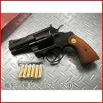 送料無料 タナカ 発火モデルガン コルトパイソン .357マグナム 3インチ Rモデル ヘビーウェイト 4537212007832