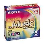 SONY CD-Rカラーレーベル 5CRM80CRAX 80