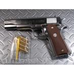 送料無料 マルシン工業 発火モデルガン コルトガバメント M1911A1 シルバーABS ブラックグリップVer 4920136011267