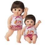 ぽぽちゃん ぽぽちゃん人形  うさちゃん柄お姉さんパンツ&キャミソール ぽぽちゃん ぽぽちゃん人形 洋服